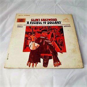 Clint Eastwood Fistful Of Dollars Vinyl LP Record